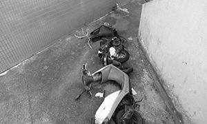 【バイク盗難】バイクの窃盗犯つかまえた。①(盗難事件発生)